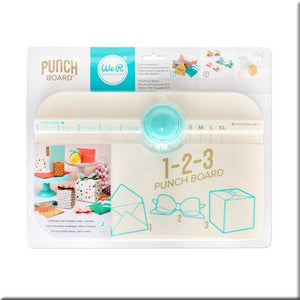 123 Punch Board-662530-We R Memory Keepers