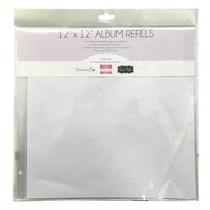 12x12 Scrapbook Album Refill packs-TCALB001-Dovecraft