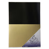 Vintage Gold Mirror Gloss & Satin Card Pack