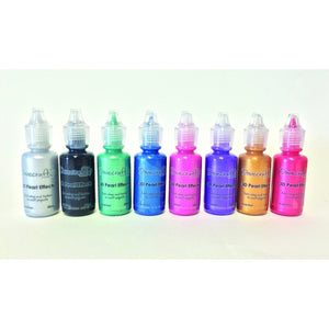 3D Pearl Effects Bright Paints (8 Colours)-DCBS92-Dovecraft
