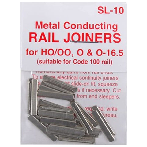 Rail Joiners For OO Gauge Track