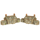 Workers Cottages N Gauge Card Kit