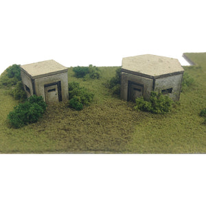 Pillboxes N Gauge Card Kit