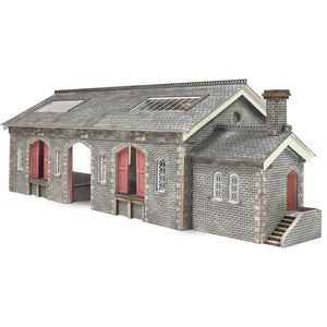 Settle Carlisle Goods Shed N Gauge Card Kit