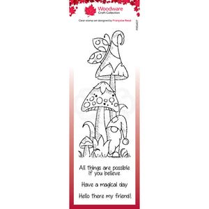 Magic Mushrooms Stamp Set
