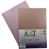 Blush Glitter Card Pack