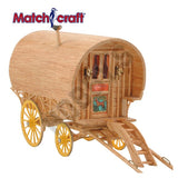 Bow Top Caravan Matchstick Kit