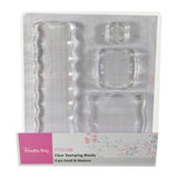 Clear Stamping Block Set Small & Medium