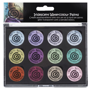 Iridescent Watercolour Pallette Set Frosted & Chic