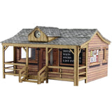 Wooden Pavilion N Gauge Card Kit