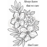 Blooming Lovely Clear Stamp Set