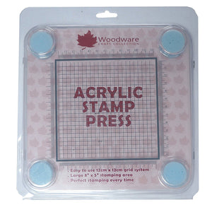 Acrylic Stamp Press-2977-Woodware