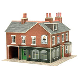 Corner Shop & Pub in Red Brick N Gauge Card Kit