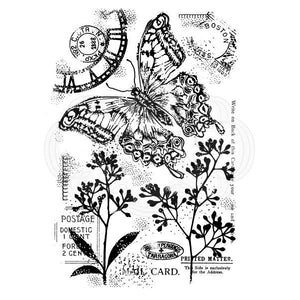 Vintage Swallowtail Stamp Set