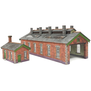 Red Brick Engine Shed N Gauge Card Kit