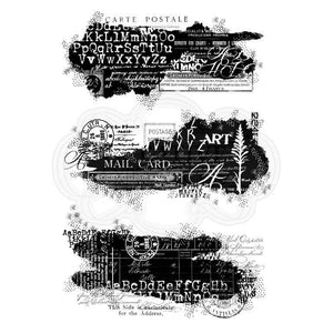 Text Patches Stamp Set