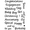 Celebration Sentiments Clear Stamps-CDCCSTCEL-03-Card-io