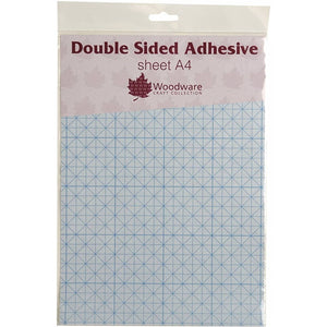 Double Sided Adhesive A4 Sheets-2351-Woodware