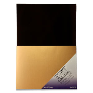 Vintage Copper Mirror Gloss & Satin Card Pack