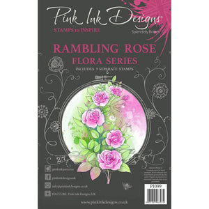 Rambling Rose Stamp Set