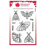 Moths Clear Stamp Set