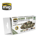 King Tiger Exterior Paint Set