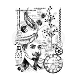 Gentleman Collage Clear Magic Singles Stamp