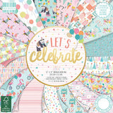 Let's Celebrate 12x12 First Edition 48 Sheet Paper Pad
