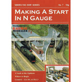 No 7 Making a Start in N Gauge Model Railway Booklet