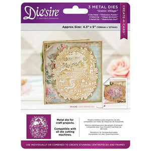 Scenic Village Die'sire Create a Card Metal Die-DS-CAD-SCE-Crafters Companion