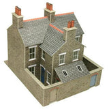 Terraced Houses In Stone OO Gauge Card Kit
