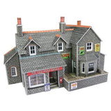 Village Shop & Cafe N Gauge Card Kit