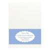 "White 5x7"" Cards Blanks & Envelopes-DCCE026-Dovecraft"