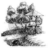 Wishing Well Clear Stamp