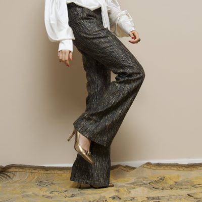 BROCATED TROUSERS - VEREL