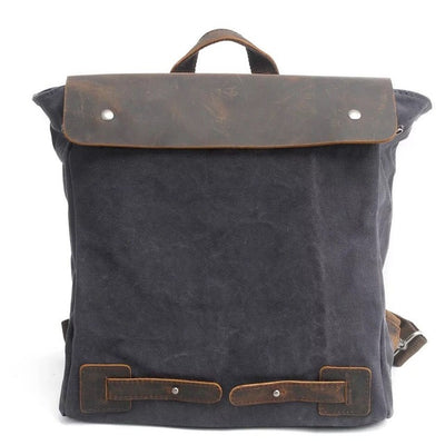 Neutral Leather Rucksack Herren
