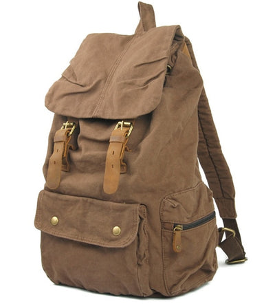 Fashion Vintage Leather Rucksack Herren