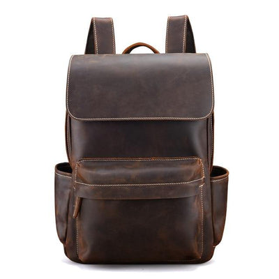 Cowhide Backpack Lederrucksack