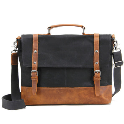 Leather Canvas Briefcases Herrentaschen
