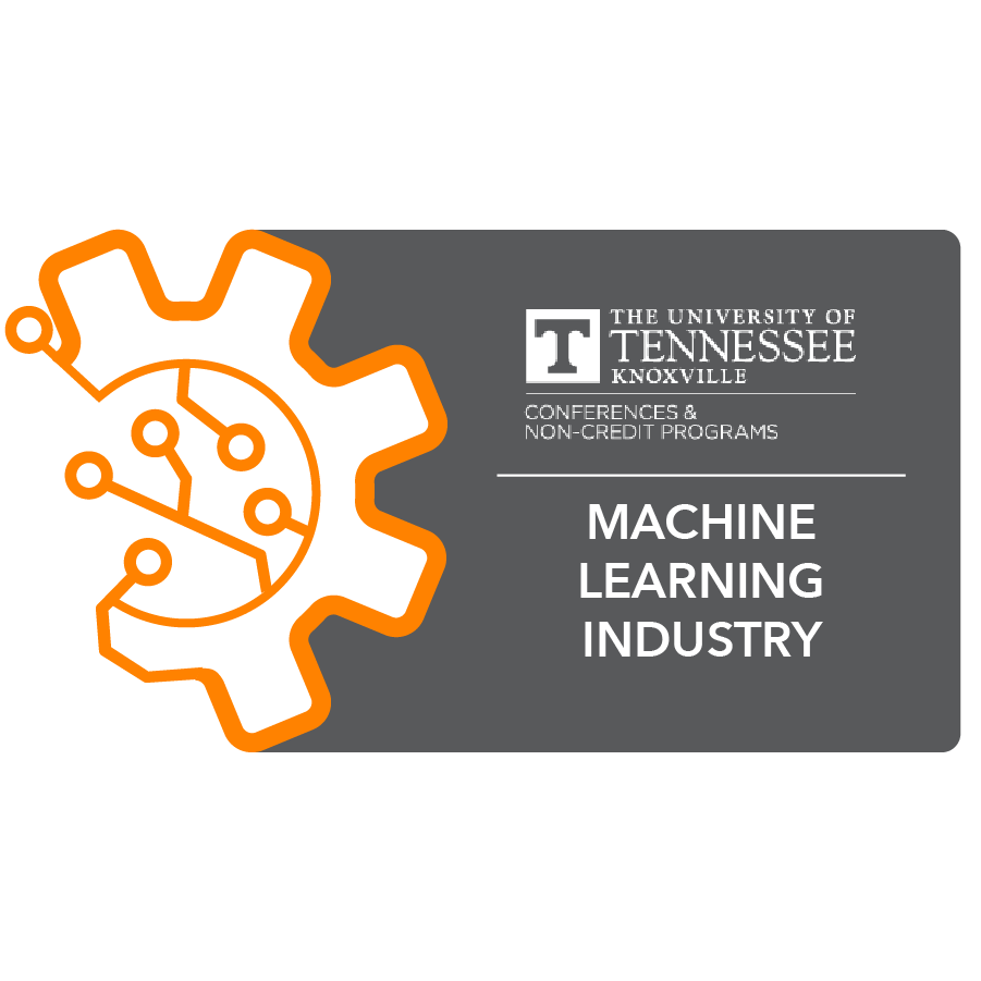 digital badge for Machine Learning and Industry from University of Tennessee, Knoxville powered by EmergingEd