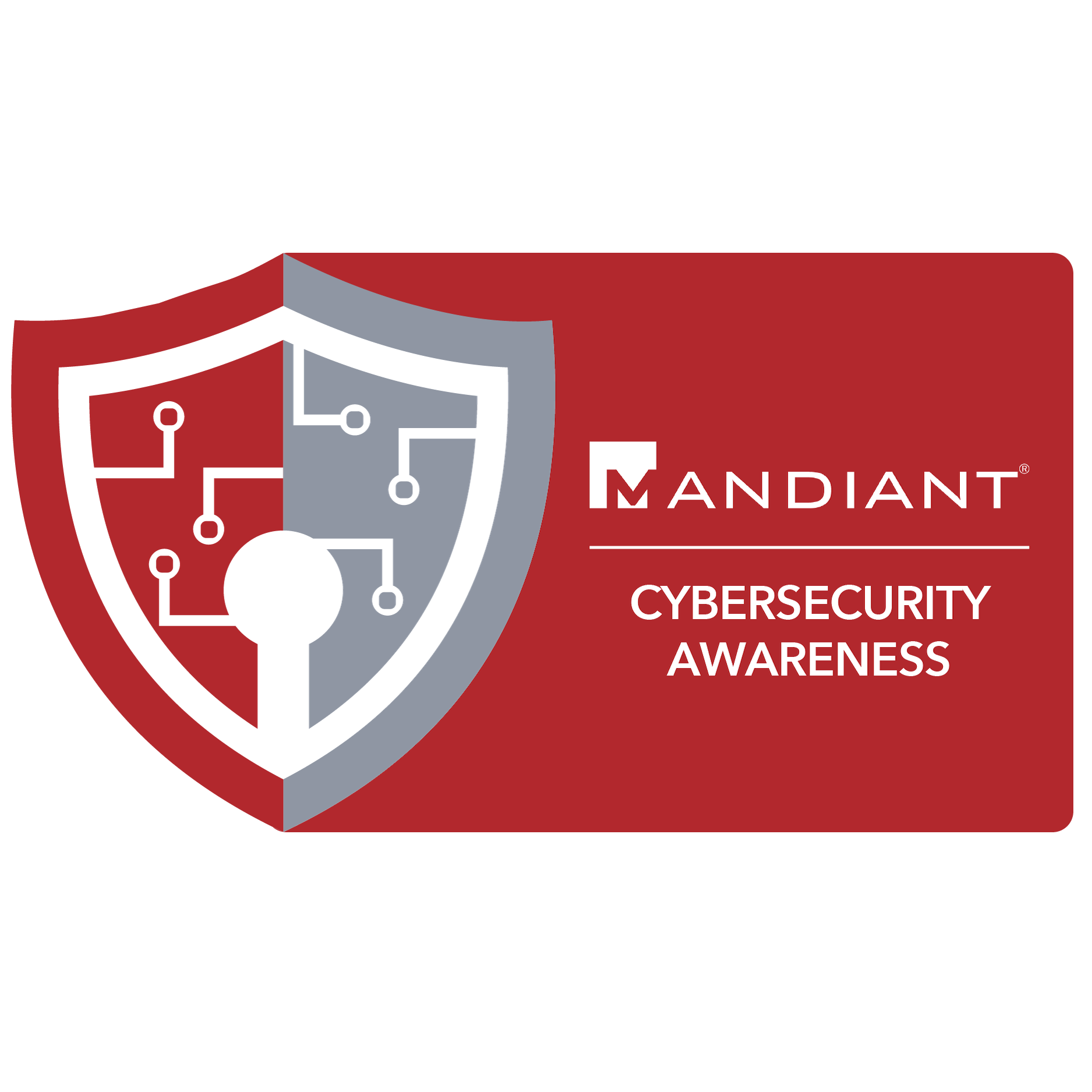 digital badge for Cybersecurity Awareness from EmergingEd powered by FireEye