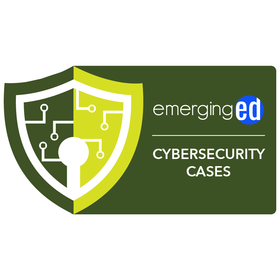 digital badge for Cybersecurity Cases from EmergingEd powered by EmergingEd