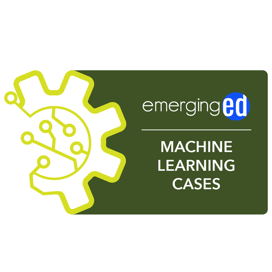 digital badge for Machine Learning Cases from EmergingEd powered by EmergingEd