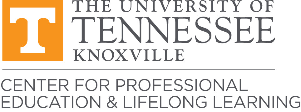 University of Tennessee, Knoxville Center for Professional Education & Lifelong Learning Logo