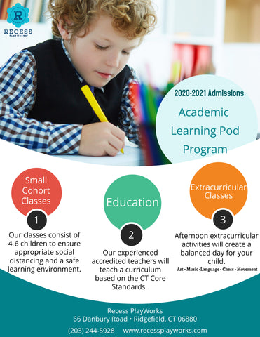 Ridgefield CT Learning Pod Program