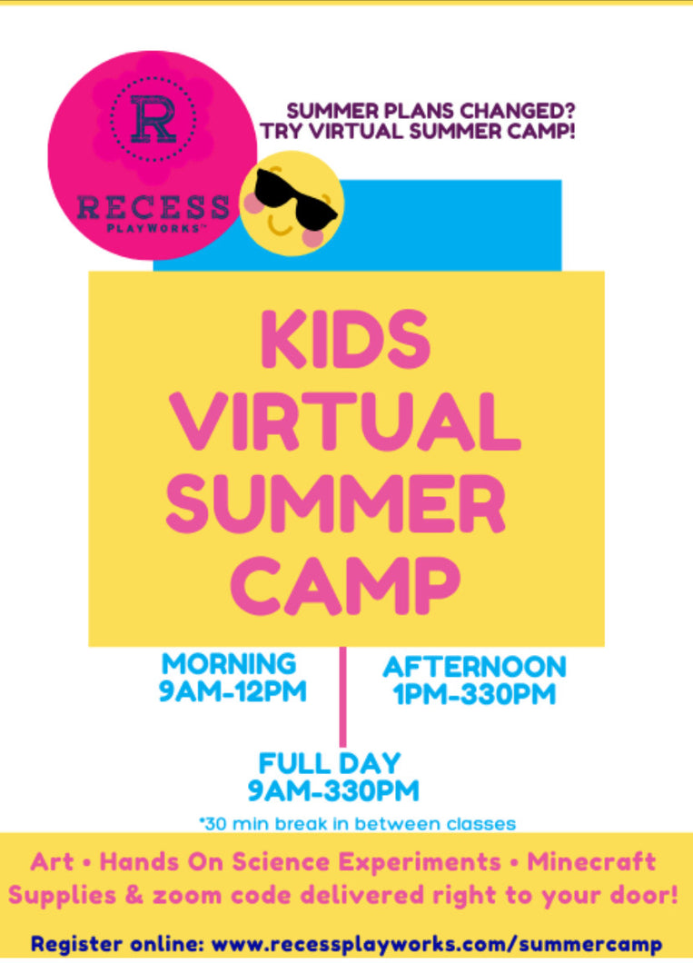 Virtual Summer Camp!