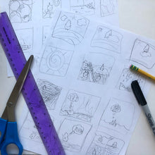 Load image into Gallery viewer, Create a Comic Book 4 week workshop !