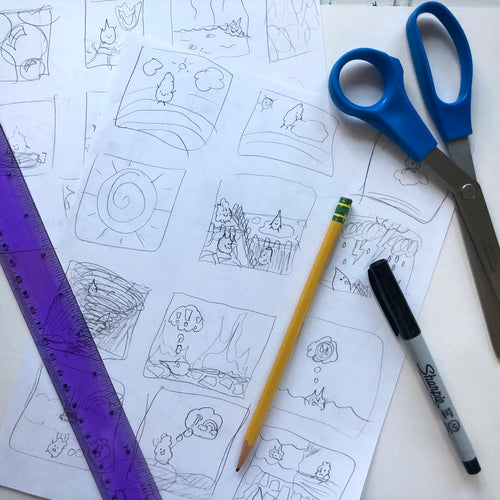 Create a Comic Book 4 week workshop !
