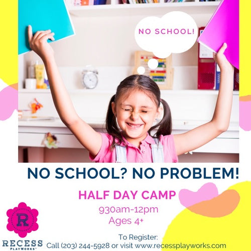 Wednesday Half Day Camp!