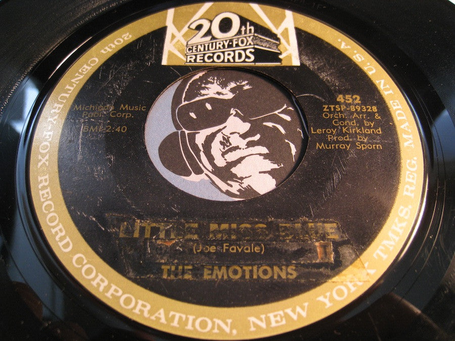Emotions - Little Miss Blue / Rainbow - 20th Century Fox #452 - Doowop